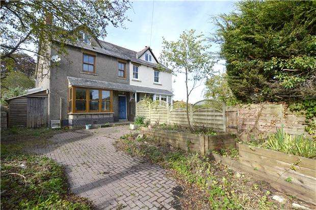 3 Bedrooms Semi Detached House for sale in Nympsfield Road, Forest Green, Nailsworth, STROUD, Gloucestershire, GL6 0EA