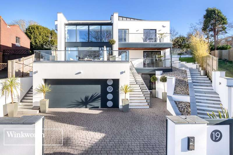 6 Bedrooms Detached House for sale in Goldstone Crescent, Hove, East Sussex, BN3