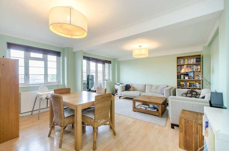 2 Bedrooms Flat for sale in Ashford Road, Cricklewood, NW2
