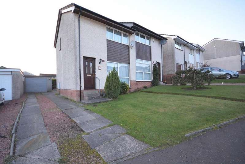2 Bedrooms Semi Detached House for sale in Anderson Drive, Darvel, KA17