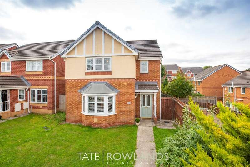 3 Bedrooms Detached House for sale in Cwrt Telford, Connahs Quay, Deeside, Flintshire, CH5