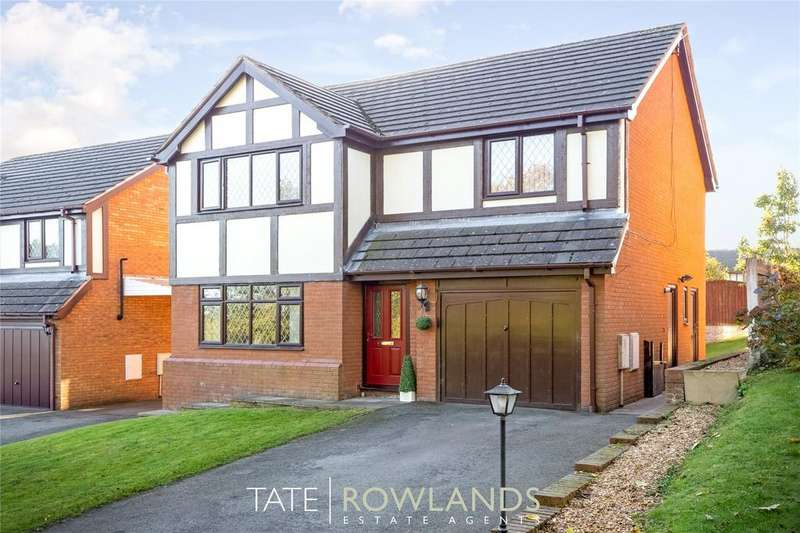 4 Bedrooms Detached House for sale in Birch Ridge, Flint, Flintshire, CH6