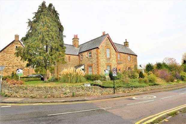 4 Bedrooms Detached House for sale in High Street, Collingtree, NORTHAMPTON