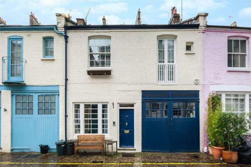 3 Bedrooms Mews House for sale in Cranley Mews, South Kensington, London, SW7