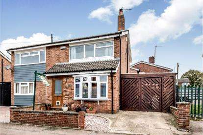 3 Bedrooms Semi Detached House for sale in Bents Close, Clapham, Bedford, Bedfordshire
