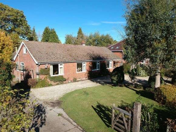 4 Bedrooms Detached Bungalow for sale in Blencathra, The Common, Charter Alley, Tadley