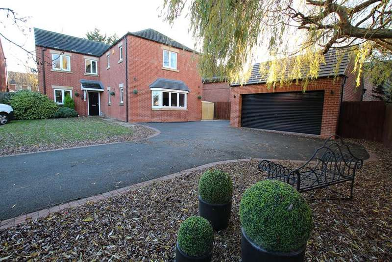 5 Bedrooms Detached House for sale in Howards Way, Branston