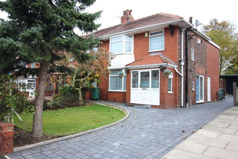 3 Bedrooms Semi Detached House for sale in Brandlesholme Road, Bury, BL8