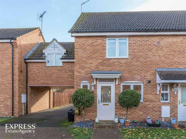 3 Bedrooms Semi Detached House for sale in Farmhouse Drive, Deeping St Nicholas, Spalding, Lincolnshire
