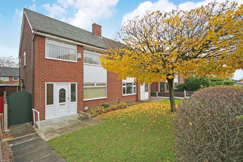 3 Bedrooms Semi Detached House for sale in Starling Drive, Farnworth, Bolton, BL4 0QT