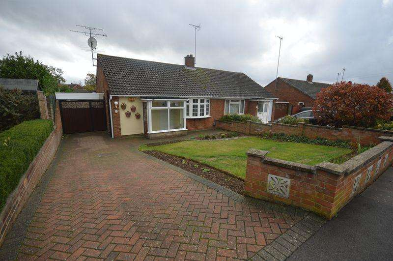 2 Bedrooms Semi Detached Bungalow for sale in Braceby Close, Luton