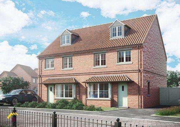 4 Bedrooms Town House for sale in The Liberty, The Moorings, Off of White Lane, Thorne, DN8 5UJ