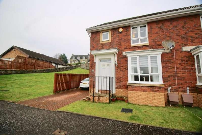 3 Bedrooms Semi Detached House for sale in 47, Hoggan Path, Cumbernauld Road, Longcroft, FK4 1UL