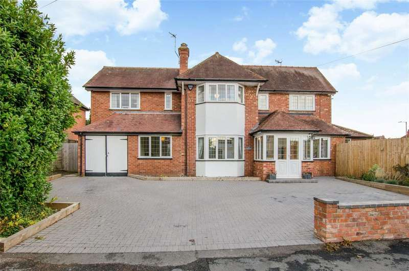 4 Bedrooms Detached House for sale in Beckett Road, Worcester, Worcestershire, WR3