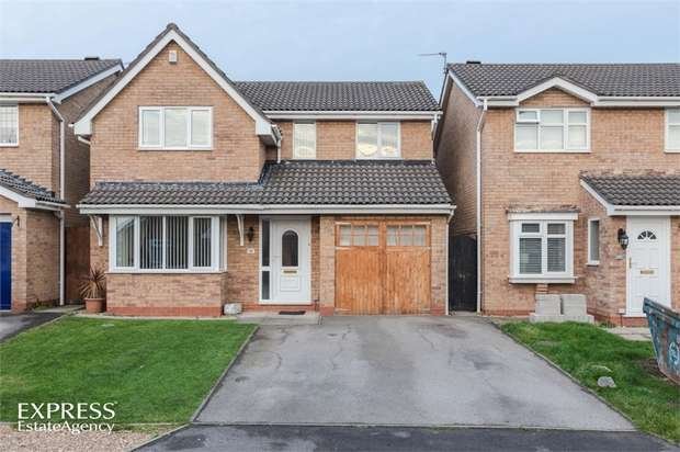 4 Bedrooms Detached House for sale in Leven Avenue, Winsford, Cheshire