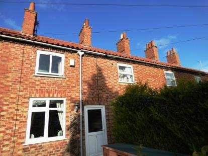 2 Bedrooms Terraced House for sale in Paradise Row, Horncastle, Lincolnshire