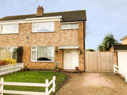 3 Bedrooms Semi Detached House for sale in London Road, Oadby, Leicester, Leicestershire