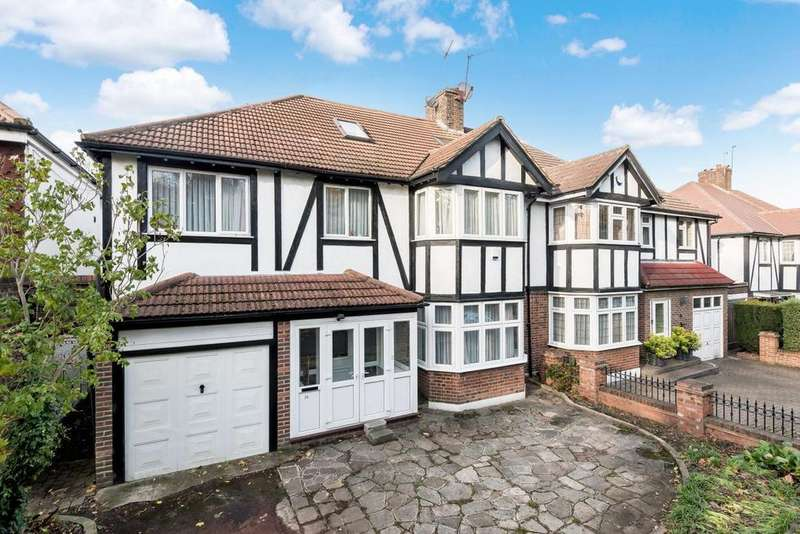 6 Bedrooms Semi Detached House for sale in Queen Elizabeths Drive, Southgate