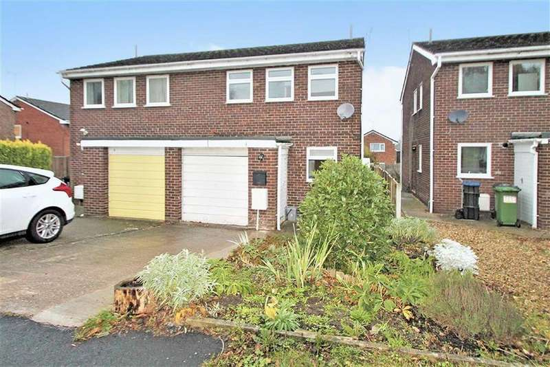 3 Bedrooms Semi Detached House for sale in Ashgrove, Chirk