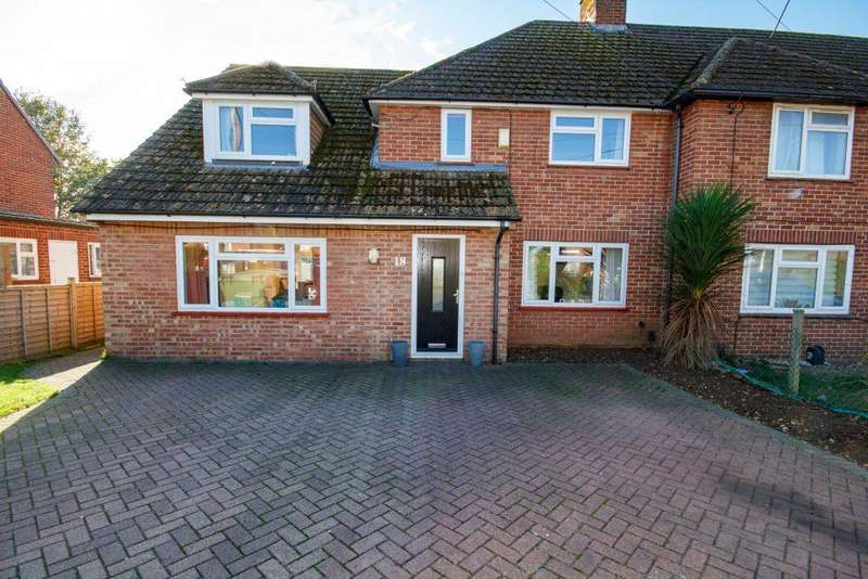 4 Bedrooms Semi Detached House for sale in Westfield Road Thatcham