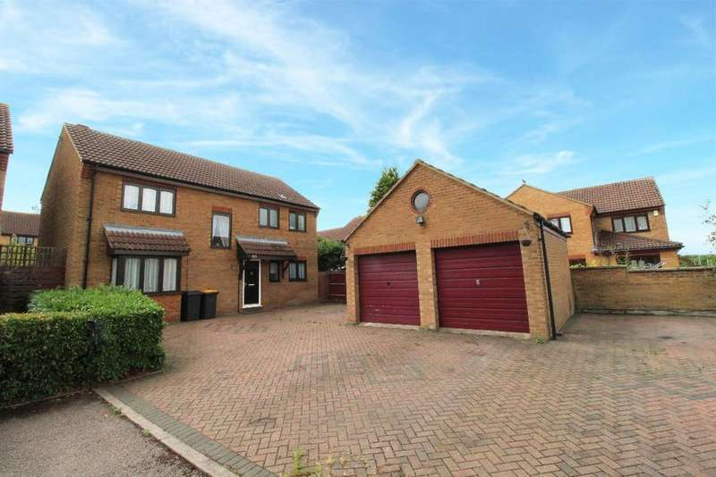 4 Bedrooms Detached House for sale in Hillgrounds Road, Kempston MK42