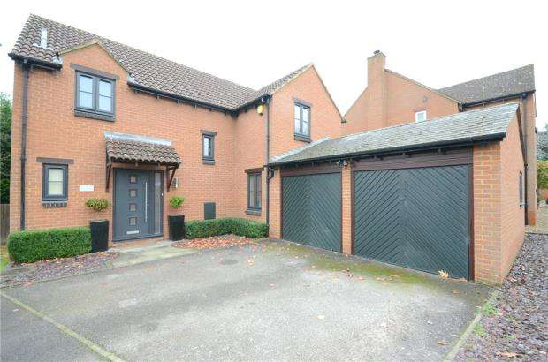 4 Bedrooms Detached House for sale in Sylverns Court, Warfield