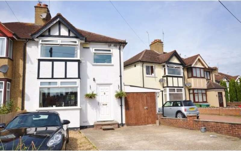 3 Bedrooms Semi Detached House for sale in Second Avenue, Garston Watford