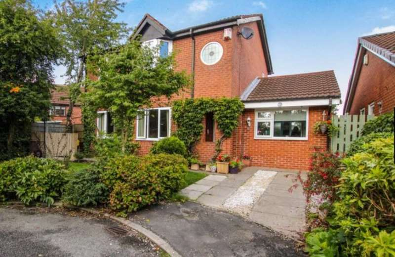 4 Bedrooms Detached House for sale in Oban Grove, Fearnhead