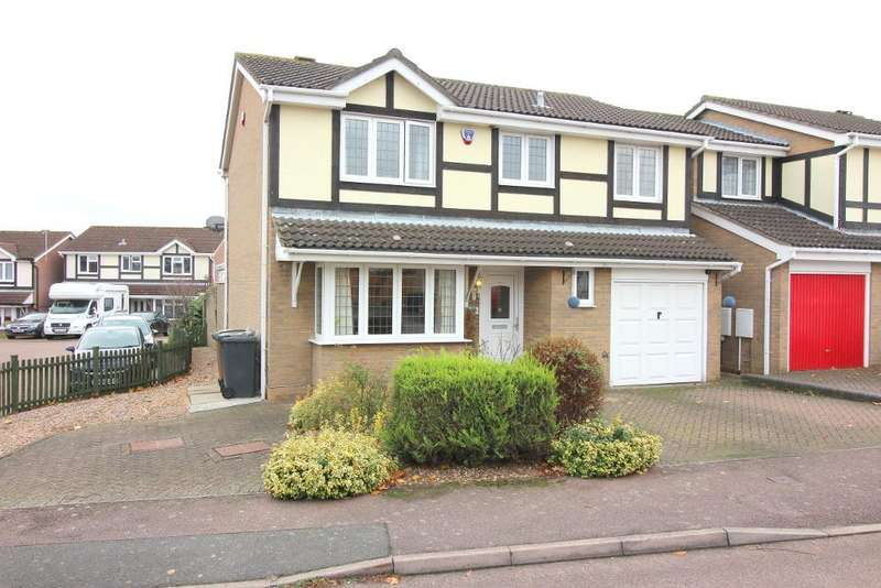 4 Bedrooms Detached House for sale in Rylands Heath, Luton, Bedfordshire, LU2 8TZ