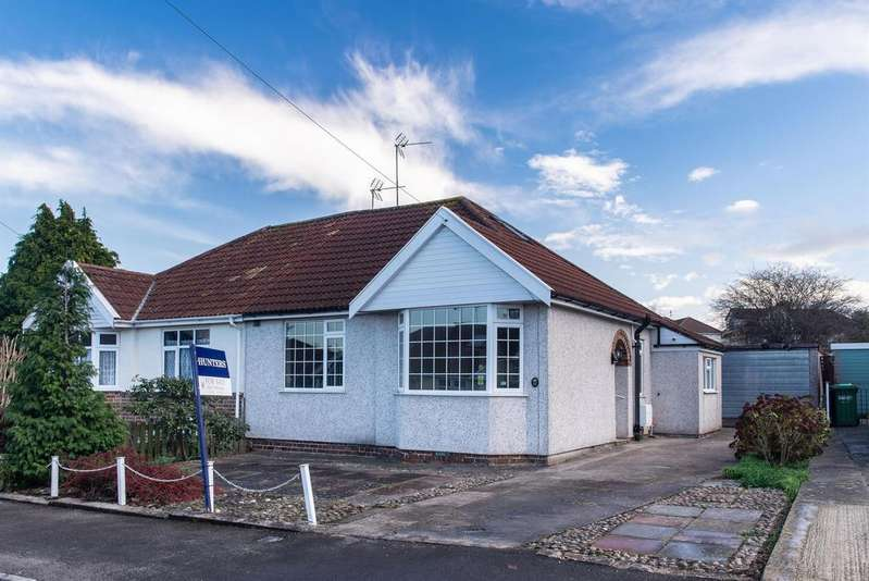 1 Bedroom Semi Detached Bungalow for sale in Salisbury Gardens, Downend, Bristol, BS16 5RF
