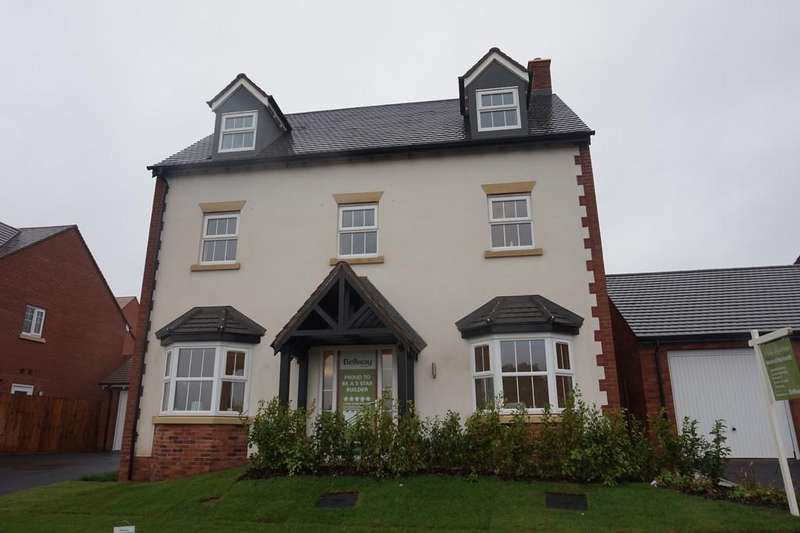 5 Bedrooms Detached House for sale in Peels Meadow, Ashby Road, Tamworth