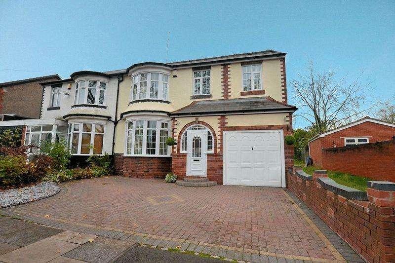 4 Bedrooms Semi Detached House for sale in Albert Road, Oldbury
