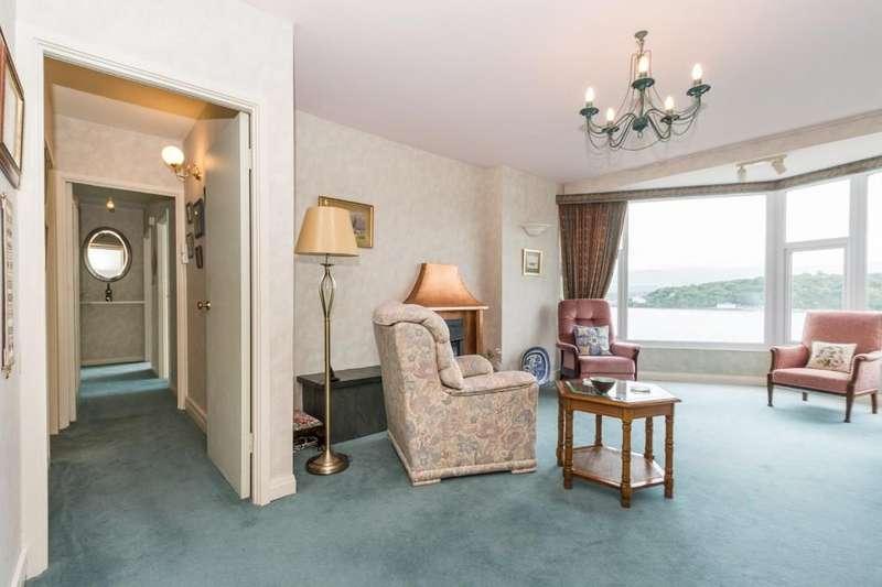 3 Bedrooms Apartment Flat for sale in Glyn Garth Court, Menai Bridge, North Wales
