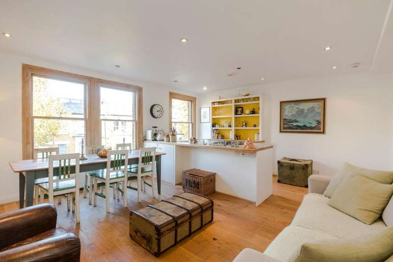 2 Bedrooms Flat for sale in Cromwell Grove, Brook Green, London, W6