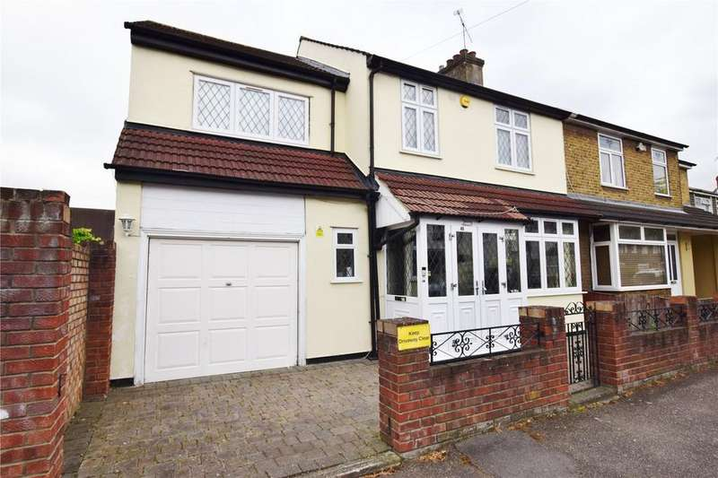 5 Bedrooms Semi Detached House for sale in Birkbeck Road, Rush Green, Essex, RM7