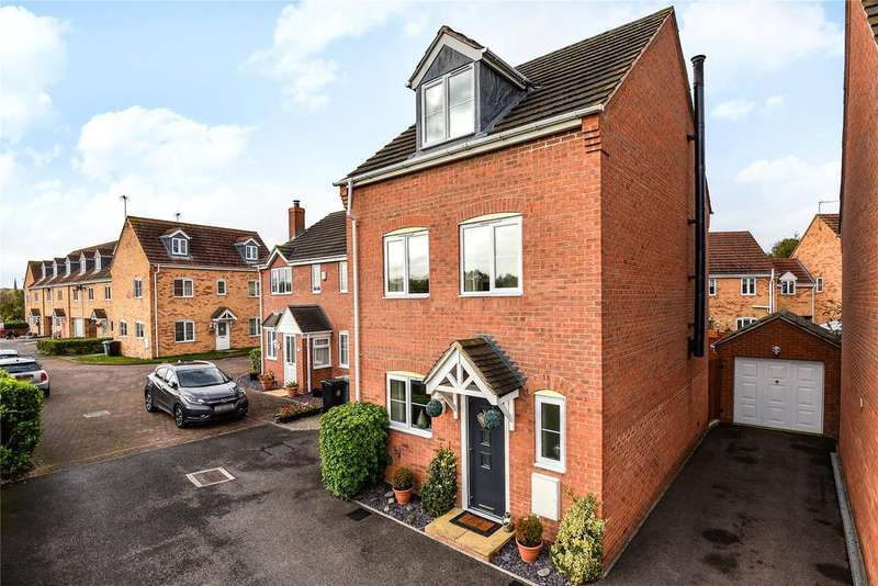 4 Bedrooms Detached House for sale in Minerva Close, Ancaster, NG32