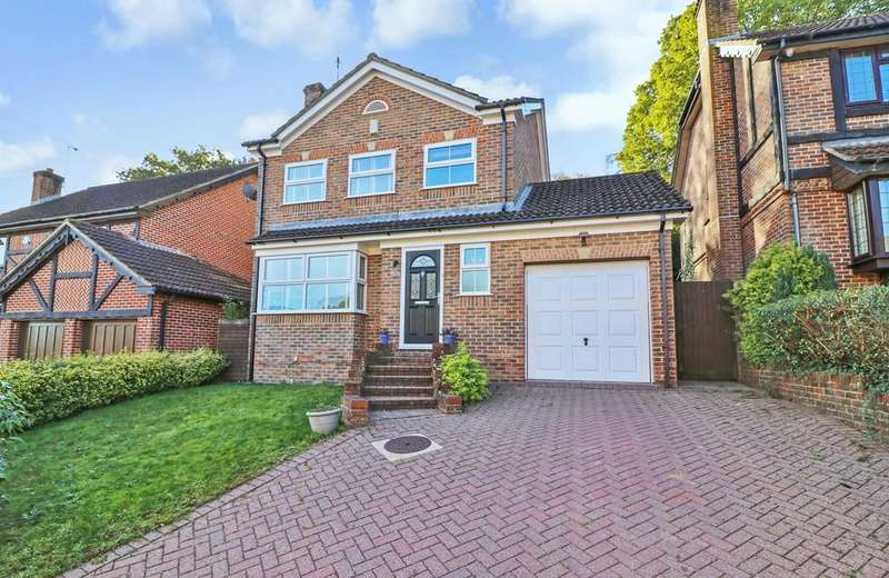4 Bedrooms Detached House for sale in Firs Drive, Hedge End