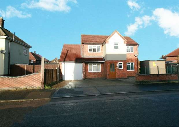3 Bedrooms Detached House for sale in Featherston Drive, Burbage, Hinckley, Leicestershire