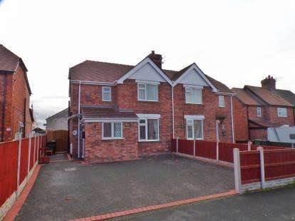 Semi Detached House for sale in Park Avenue, Winsford, Cheshire