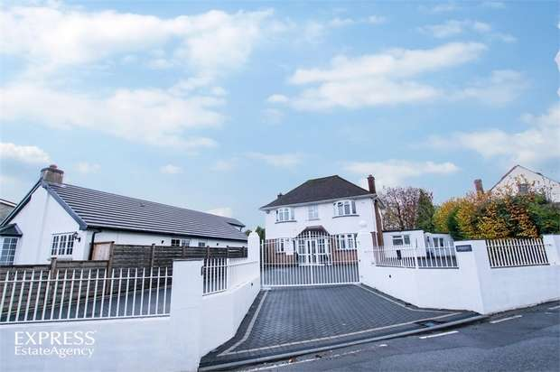 4 Bedrooms Detached House for sale in Rudry Road, Lisvane, Cardiff, South Glamorgan