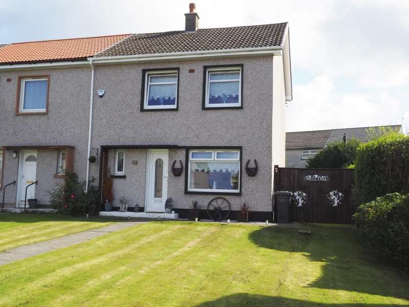 2 Bedrooms End Of Terrace House for sale in Dalry Road Saltcoats KA21