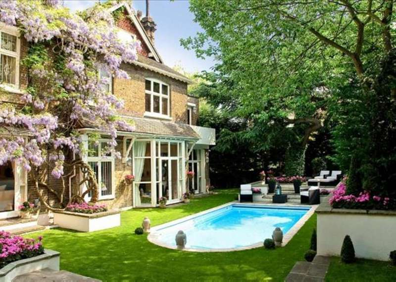 12 Bedrooms Terraced House for rent in Frognal, London NW3