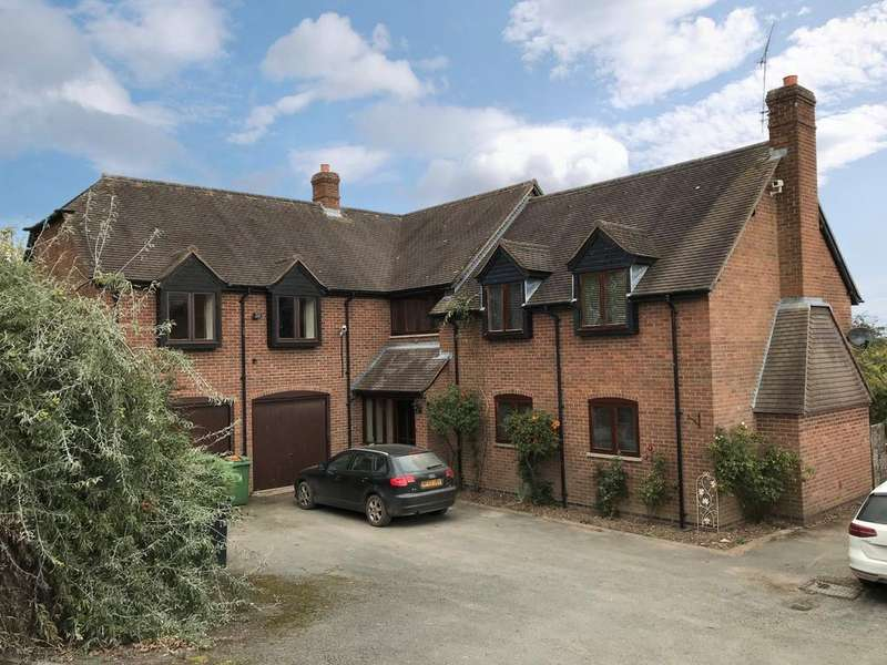 5 Bedrooms Detached House for sale in Risbury HEREFORDSHIRE