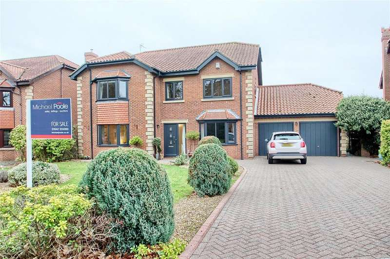 5 Bedrooms Detached House for sale in Wynyard Court, Thorpe Thewles