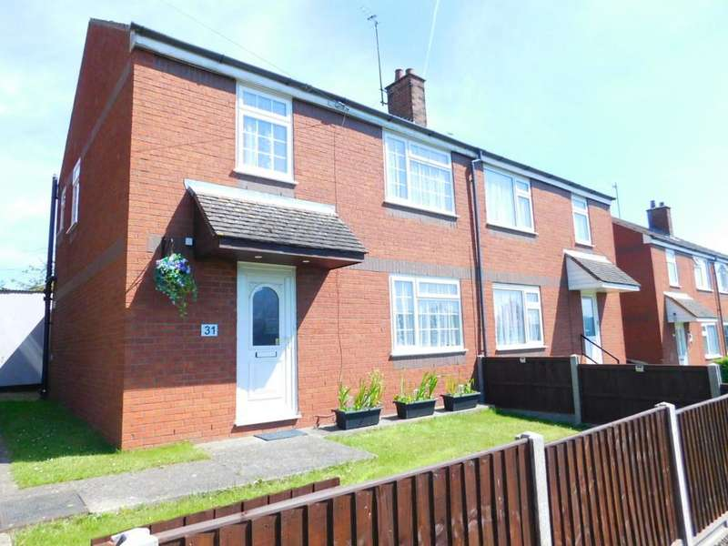 3 Bedrooms Semi Detached House for sale in Hillary Rise, Arlesey, Beds SG15 6TL