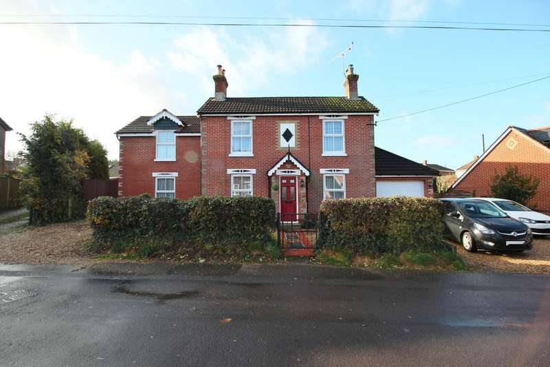 4 Bedrooms Detached House for sale in Freegrounds Road, Hedge End SO30