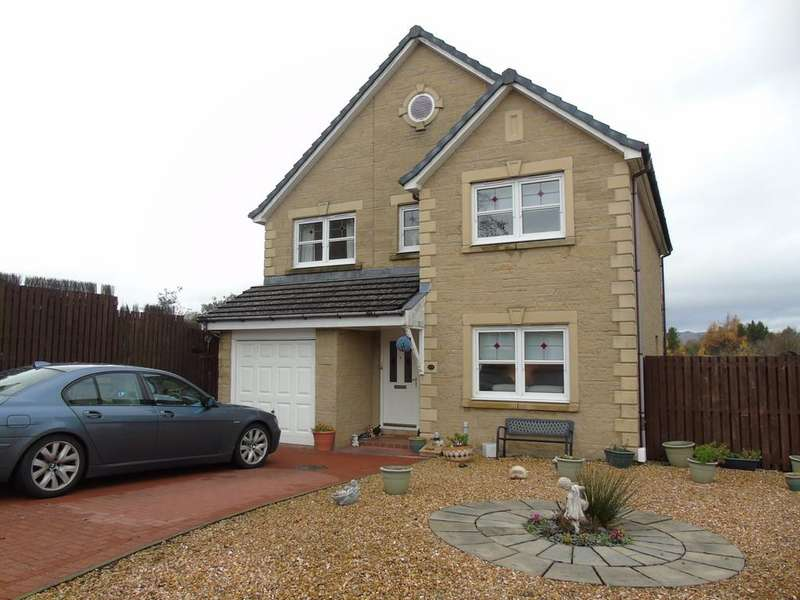 4 Bedrooms Detached House for sale in Drumbowie View, Balloch, Cumbernauld, G68, North Lanarkshire