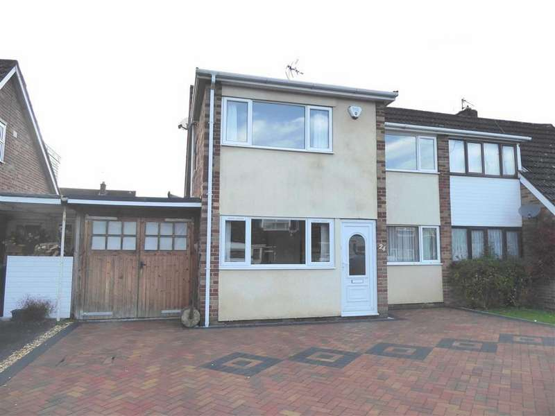 4 Bedrooms Semi Detached House for sale in Shakespeare Road, Dursley, GL11