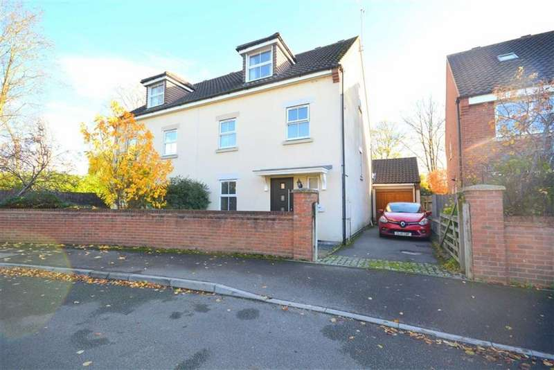 4 Bedrooms Semi Detached House for sale in Upton Gardens Whitminster