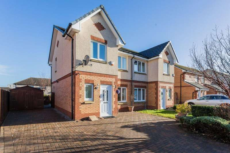 3 Bedrooms Semi Detached House for sale in 3C, Ness Avenue, Johnstone, PA5 0PF